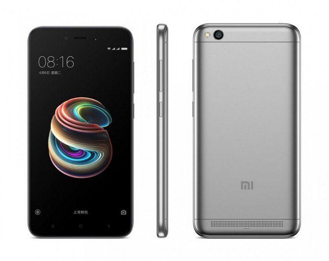 Giới thiệu sản phẩm Xiaomi Redmi 5A 16GB Ram 2GB (Đen Xám) - Hãng phân phối chính thức