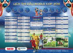 LỊCH THI ĐẤU WORLD CUP 2018 - FILE VECTOR DÙNG CHO IN ẤN CHẤT LƯỢNG CAO